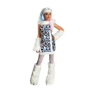 🎃Monster High Abbey Bominable Halloween Costume L